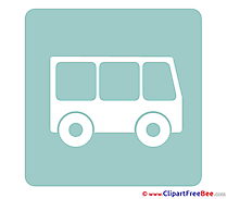 Bus printable Illustrations Pictogrammes