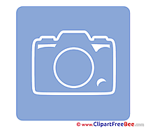 Camera Photo Clip Art download Pictogrammes