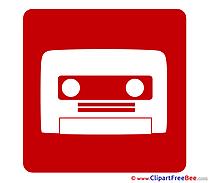 Cassette Clip Art download Pictogrammes