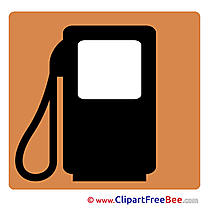 Gas Station Pics Pictogrammes free Cliparts