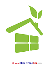 House Eco Clipart Pictogrammes free Images