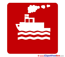 Ship download Pictogrammes Illustrations