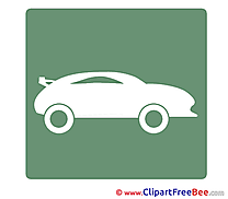 Sport Car free Cliparts Pictogrammes