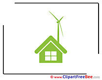 Windmill Building House Pics Pictogrammes free Image