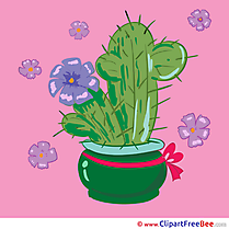 Cactus in Pot free Cliparts for download