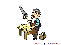 Carpenter Saw download Clip Art for free