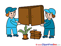 Cupboard Loaders Clipart free Illustrations