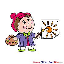 Sun Painter Clipart free Image download