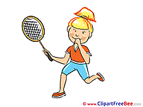 Tennis Player Pics download Illustration