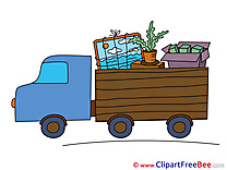 Truck Transportation download Clip Art for free