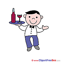 Waiter Tray Images download free Cliparts