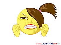 Angry free Cliparts Smiles