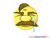 Crying free Cliparts Smiles