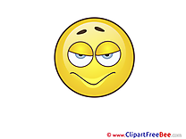 Diabolical Smiles Clip Art for free
