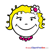 Gleeful free Cliparts Smiles
