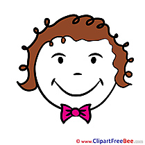 Gleeful free Illustration Smiles