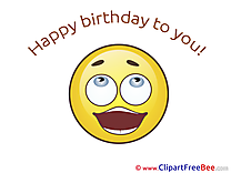 Happy Birthday download Clipart Smiles Cliparts