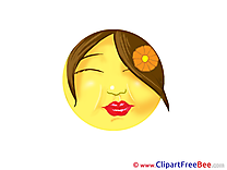 Kiss free Illustration Smiles