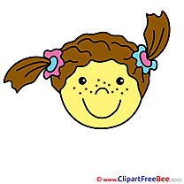 Pleased Smiles Clip Art for free