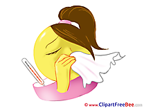 Sneezing Clip Art download Smiles