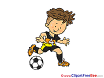 Boy free Illustration Football