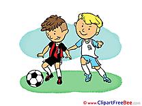 Children Football Illustrations for free