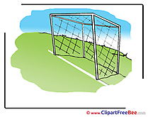 Cliparts Goal Football for free