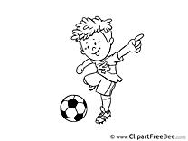 Coloring Ball Pics Football free Image