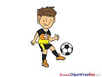 Footballer printable Football Images