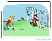 Free Kick Cartoon - Soccer Cliparts