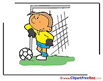 Gate Football Clip Art for free