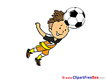Header Cliparts Football for free