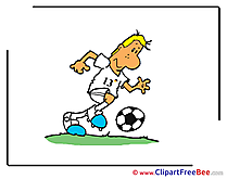 Player Football Clip Art for free