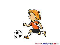Player Football download Illustration