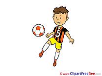 Tricks Clipart Football Illustrations