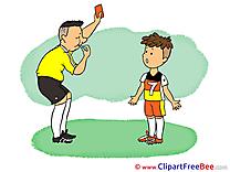 Violation Clipart Football Illustrations