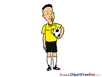 Whistle Referee download Clipart Football Cliparts