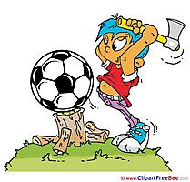 Woodman Ball printable Illustrations Football