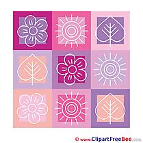 Decoration Leaves Sun Pics free download Image