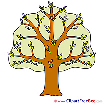 Tree Spring Clipart free Illustrations