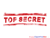 Download Top Secret Stamp Illustrations
