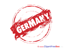 Germany Stamp download Illustration