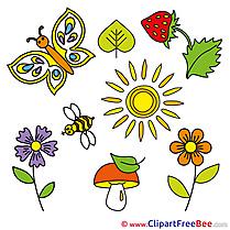 Pics Summer free Cliparts