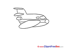 Aeroplane Clipart free Illustrations