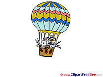 Air Balloon Pics printable Cliparts