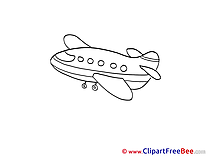 Airplane free Cliparts for download