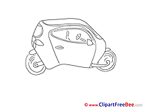Concept Car Clipart free Illustrations