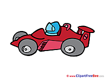 Formula 1 printable Illustrations for free