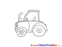 Tractor free Illustration download