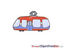 Tramway Clipart free Illustrations